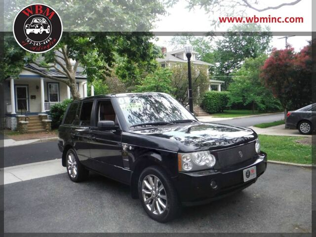 2008 Land Rover Range Rover Supercharged w/ Westminster Edition Arlington VA