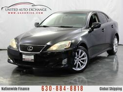 2008_Lexus_IS 250_2.5L V6 Engine / AWD / Push Start Button / Sunroof_ Addison IL