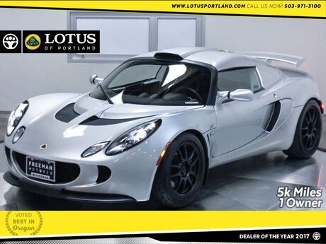 2008 Lotus Exige S 240 Just 5k Miles 1-Owner Locally Owned Portland OR