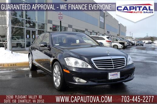 2008 MERCEDES-BENZ S-CLASS S550 4Matic with Dynamic Seats Chantilly VA