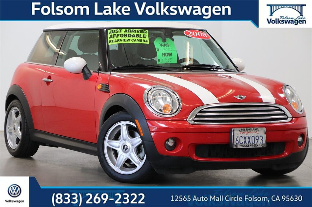 2008 MINI Cooper Base Folsom CA