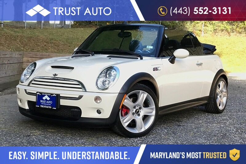 2008 MINI Cooper S John Cooper Works Convertible Soft-Top Hatchback 6-Speed Manual S