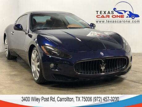 2008 Maserati GranTurismo AUTOMATIC NAVIGATION LEATHER HEATED SEATS DUAL CLIMATE CONTROL DUAL POWER SEATS Carrollton TX