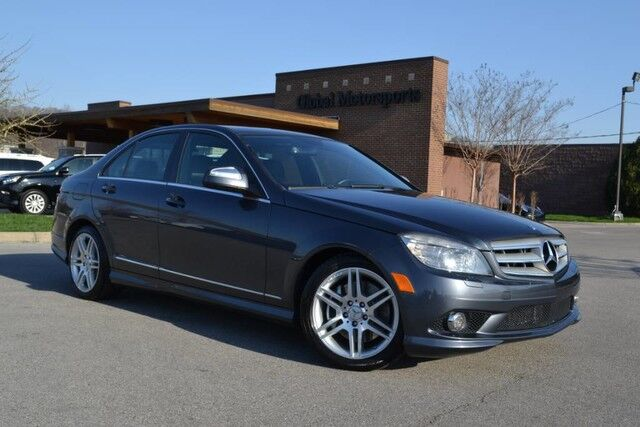 2008 Mercedes-Benz C-Class 3.5L/Rare 350/Local Trade/Navigation/Heated Seats/AMG Sport Pkg/Sat Radio/Sunroof/Bluetooth Nashville TN