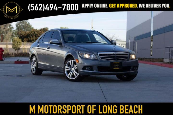 2008_Mercedes-Benz_C-Class_C 300 Sport Sedan 4D_ Long Beach CA