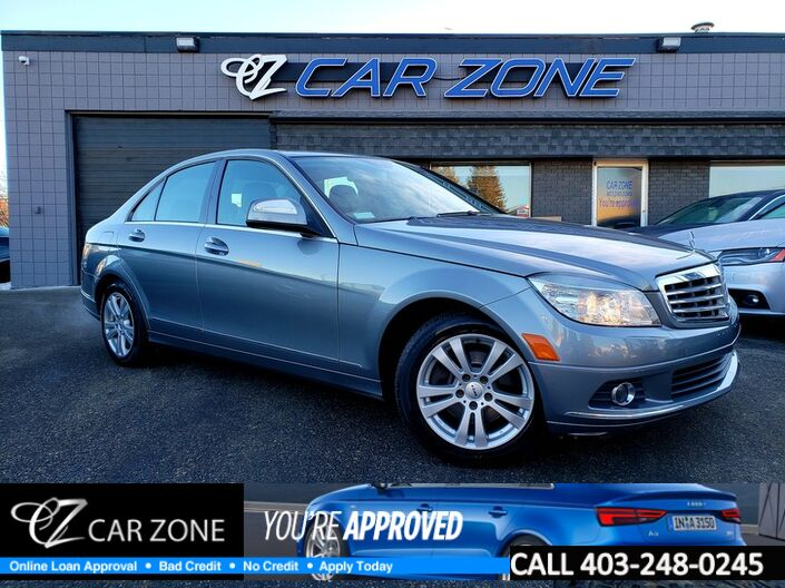 2008 Mercedes-Benz C-Class C230 2.5L 4MATIC ALL WHEEL DRIVE Calgary AB