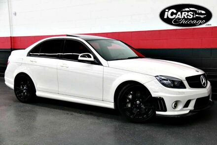 2008_Mercedes-Benz_C63 AMG_4dr Sedan_ Chicago IL