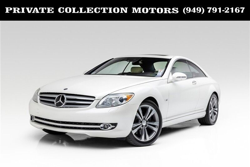 2008_Mercedes-Benz_CL-Class_V12 Designo Two Owner Clean Carfax_ Costa Mesa CA