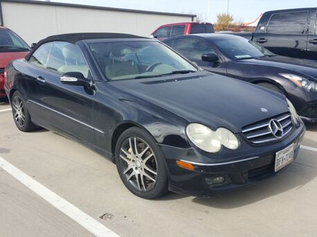 2008_Mercedes-Benz_CLK_CLK 350 /CONVERTIBLE/PREMIUM PKG/HARMAN/NAV/WOOD/CRUISE/P2_ Euless TX