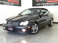 Mercedes-Benz CLK350 CONVERTIBLE KEYLESS START KEYLESS ENTRY DUAL MEMORY SEATS DUAL POWER SEATS CD PLAYER 2008