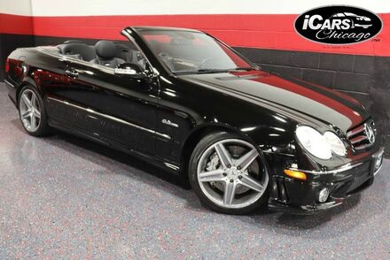 2008_Mercedes-Benz_CLK63 AMG_2dr Convertible_ Chicago IL