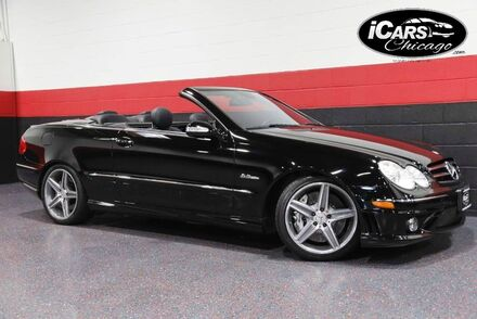 2008_Mercedes-Benz_CLK63_AMG 6.3L 2dr Convertible_ Chicago IL