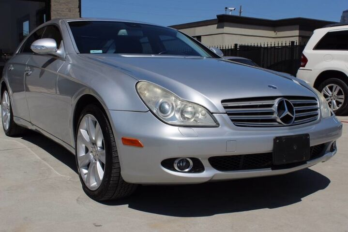 2008 Mercedes-Benz CLS-Class 4dr Sdn 5.5L,NAVI,CAMERA,HEATED,LOADED! Houston TX
