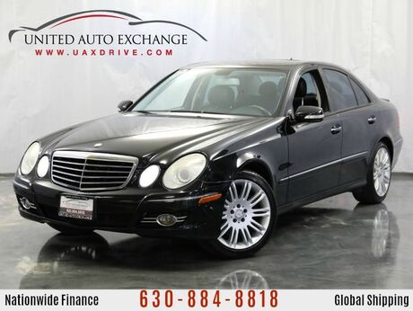 2008 Mercedes-Benz E-Class E350 3.L V6 Engine AWD 4Matic w/ AMG Sport Package, Navigation, Power Sunroof, Harman Kardon Premium Sound System Addison IL