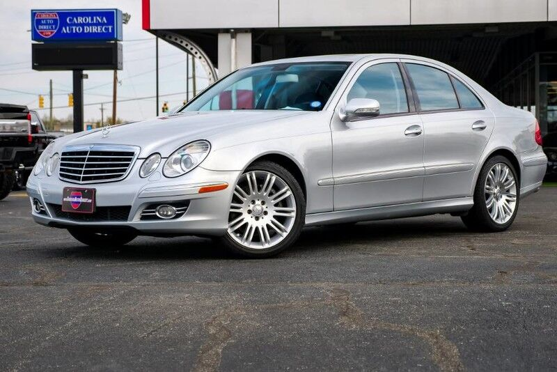 2008 Mercedes-Benz E350 4MATIC Luxury AWD w/ Heated Front Seats & Navigation Mooresville NC