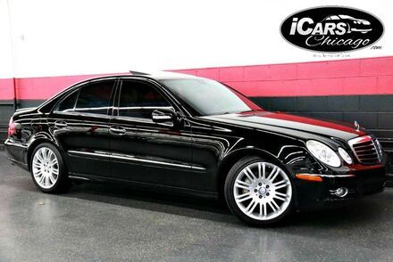 2008_Mercedes-Benz_E550 Sport_4dr Sedan_ Chicago IL