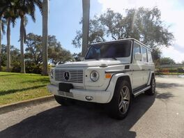 2008_Mercedes-Benz_G-Class_G 500_ Hollywood FL