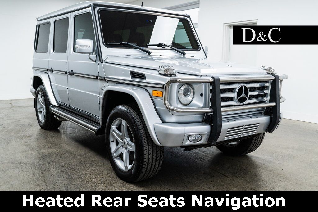 2008 Mercedes-Benz G-Class G 55 AMG 4MATIC Heated Rear Seats Navigation Portland OR