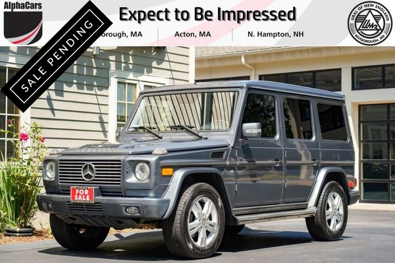 2008 Mercedes-Benz G500 4Matic Boxborough MA