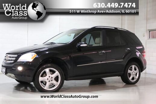 2008 Mercedes-Benz M-Class 3.5L - AWD POWER HEATED LEATHER SEATS WOOD GRAIN INTERIOR BACKUP Chicago IL