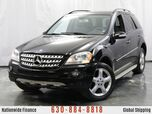 2008 Mercedes-Benz M-Class ML 350 / 3.5L V6 Engine / AWD 4Matic / Rear View Camera / Sunroof / Navigation / Sport Package