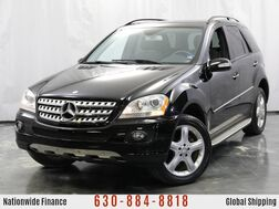 2008_Mercedes-Benz_M-Class_ML 350 / 3.5L V6 Engine / AWD 4Matic / Rear View Camera / Sunroof / Navigation / Sport Package_ Addison IL