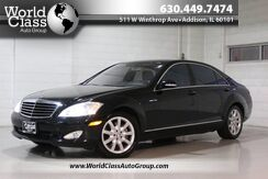 2008_Mercedes-Benz_S-Class_5.5L V8 - AWD NAVIGATION SUN ROOF POWER ADJUSTABLE HEATED LEATHER SEATS WOOD GRAIN INTERIOR POWER REAR SUNSHADE_ Chicago IL