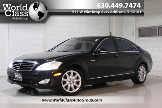 2008 Mercedes-Benz S-Class 5.5L V8 - AWD NAVIGATION SUN ROOF POWER ADJUSTABLE HEATED LEATHER SEATS WOOD GRAIN INTERIOR POWER REAR SUNSHADE Chicago IL