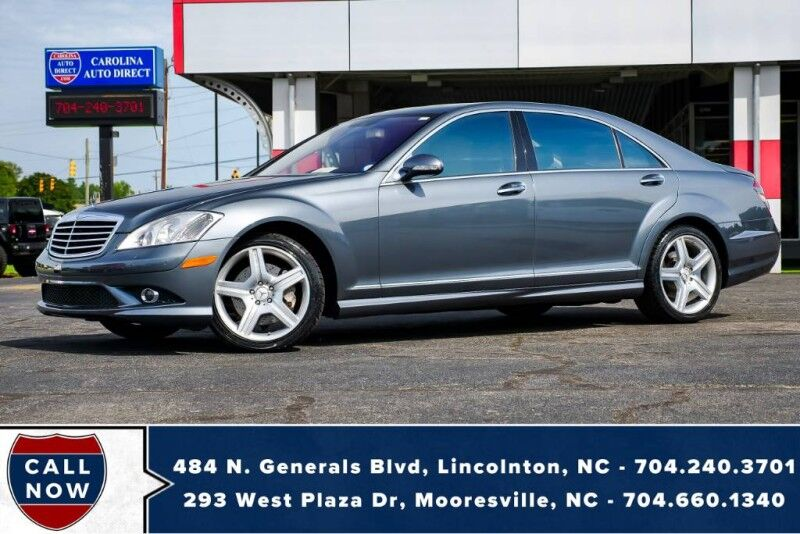 2008 Mercedes-Benz S-Class 550 4MATIC AWD w/ Vented & Heated Front Seats