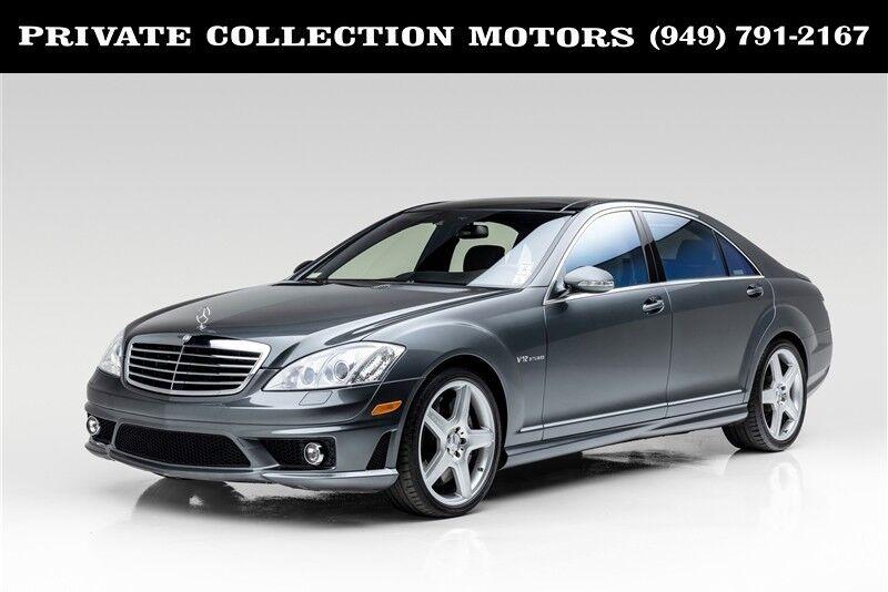 2008_Mercedes-Benz_S-Class_6.0L V12 AMG_ Costa Mesa CA