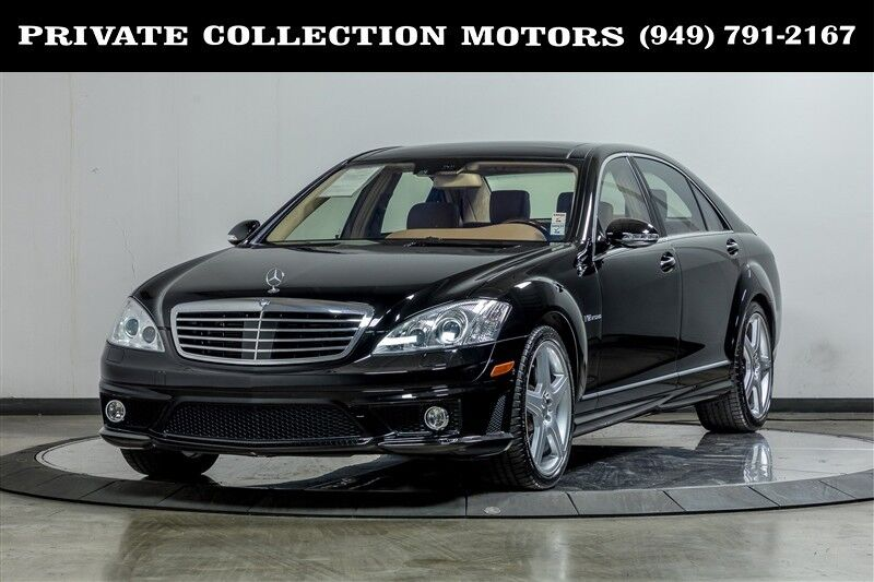 2008_Mercedes-Benz_S-Class_S65 AMG 1 Owner_ Costa Mesa CA