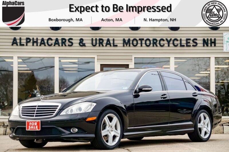 2008 Mercedes-Benz S550 4Matic AMG Sport Boxborough MA