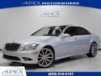 Mercedes-Benz S550 Sedan P3 Pkg Vossen Wheels 2008