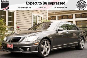 2008_Mercedes-Benz_S65_AMG Graphite Designo_ Boxborough MA