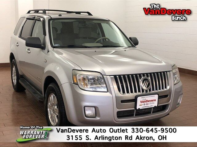2008 Mercury Mariner Base V6 FWD Akron OH