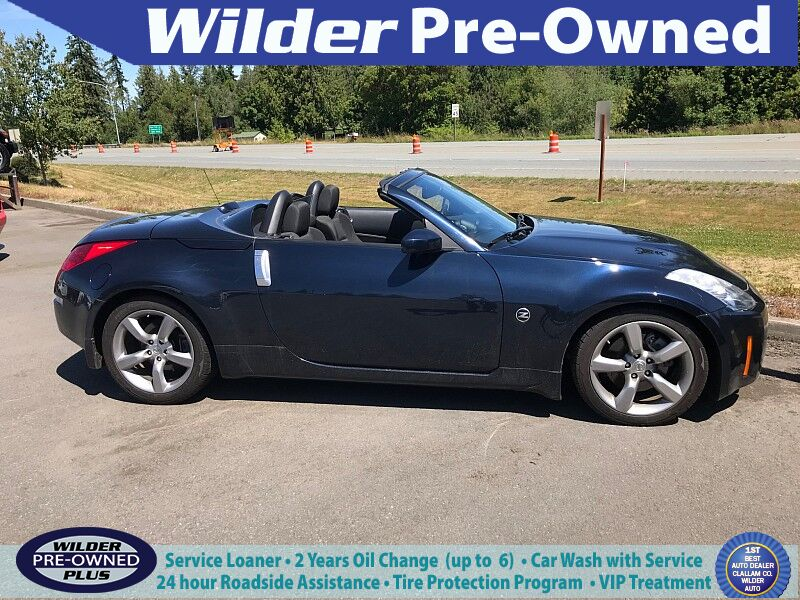 2008 Nissan 350Z 2d Roadster Enthusiast Auto Port Angeles WA