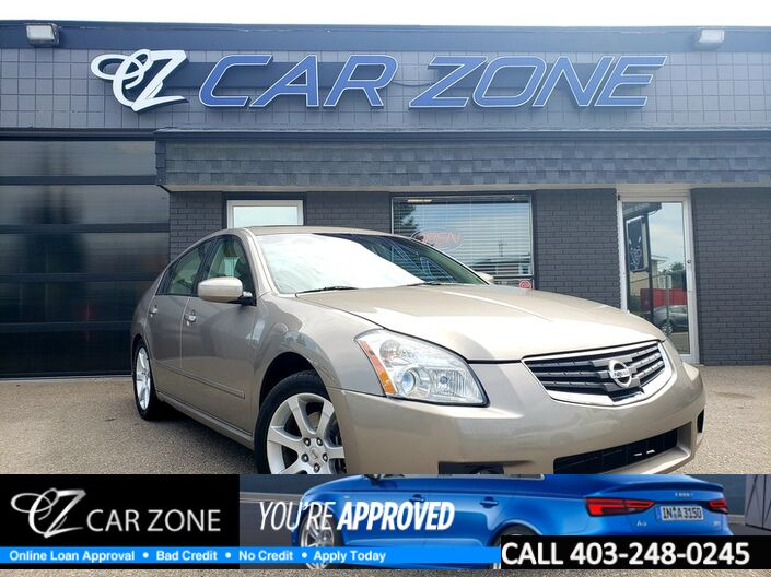 2008 Nissan Maxima 3.5 SE LEATHER SUNROOF Calgary AB