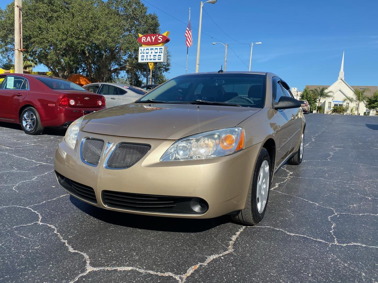 2008 Pontiac G6 1SV Value Leader