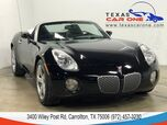 2008 Pontiac Solstice LEATHER SEATS CRUISE CONTROL ALLOY WHEELS LEATHER MULTIFUNCTION