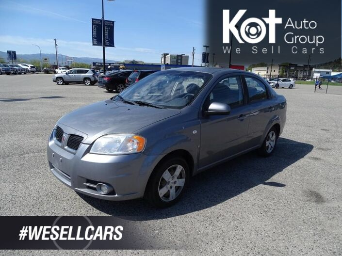 2008 Pontiac Wave SE, No Accidents! Low KM's, Extra Set of Tires, A/C Kelowna BC