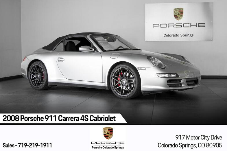 2008 Porsche 911 911 Carrera 4S Cabriolet Colorado Springs CO