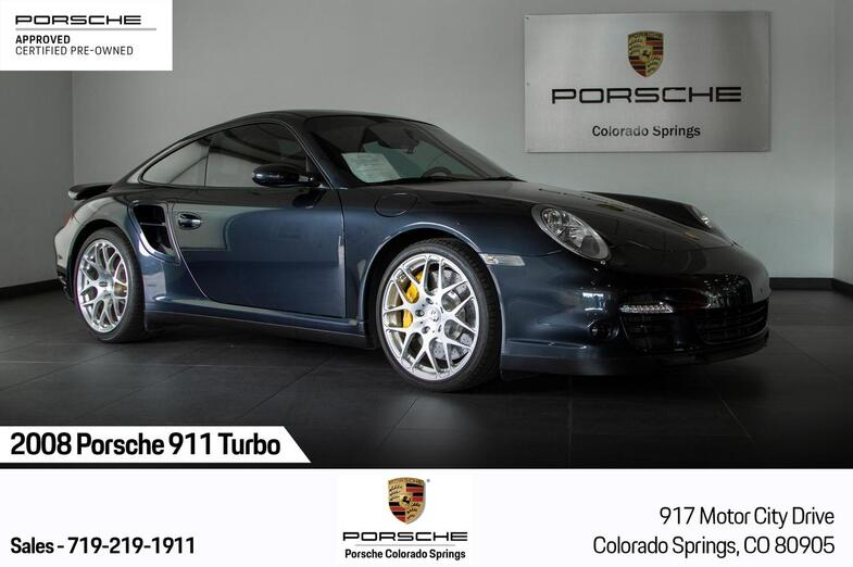 2008 Porsche 911 911 Turbo Colorado Springs CO
