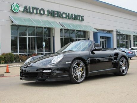 2008 Porsche 911 Turbo Cabriolet NAV, BLUETOOTH, HTD SEATS, BOSE STEREO, CD PLAYER, LEATHER Plano TX