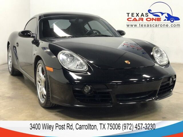 2008 Porsche Cayman AUTOMATIC NAVIGATION LEATHER HEATED SEATS REAR CAMERA BLUETOOTH Carrollton TX