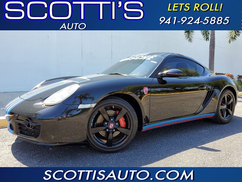 2008 Porsche Cayman S Design Edition~ CLEAN CARFAX~ WELL SERVICED~RECENT TRADE~ RUNS GREAT~ WHOLESALE PRICE~ CONTACT US TODAY! Sarasota FL