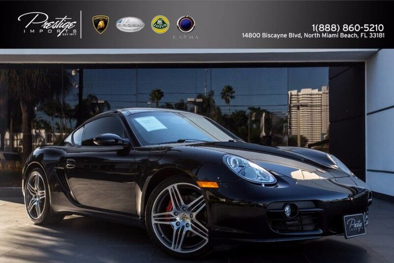 2008_Porsche_Cayman_S_ North Miami Beach FL