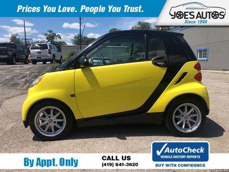 2008 SMART FORTWO PURE Toledo OH