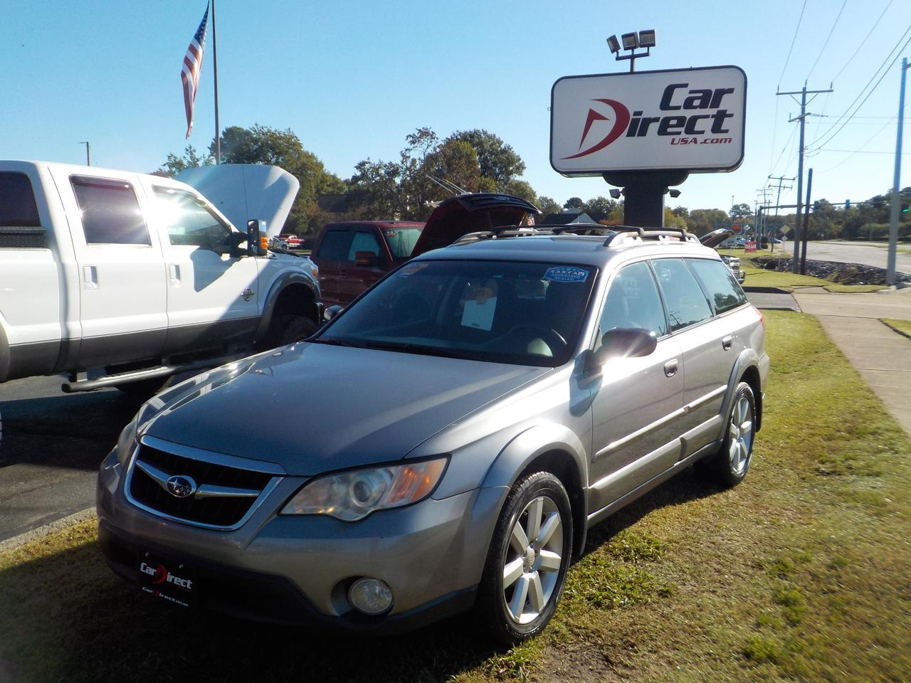 2008 SUBARU OUTBACK LL BEAN EDITION, HEATED SEATS, ROOF RACKS, CRUISE CONTROL!
