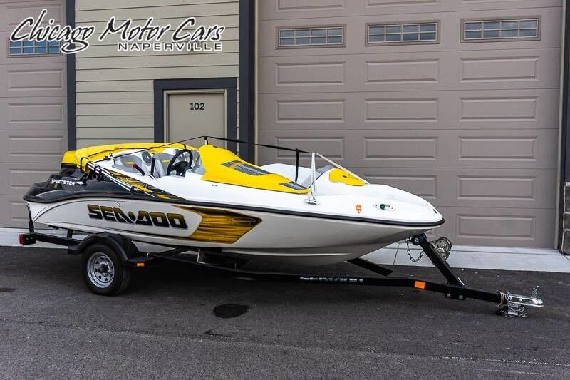 2008_Sea Doo_150 Speedster_Supercharged Rotax Speedster Boat ONLY 50 HOURS CLOCKED!_ Chicago IL