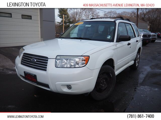 2008 Subaru Forester 2.5 X Lexington MA